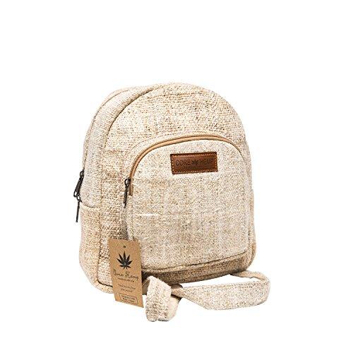 Core Hemp Mini Backpack (Natural)
