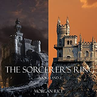 Sorcerer's Ring Bundle     Books 1 and 2              By:                                                                                                                                 Morgan Rice                               Narrated by:                                                                                                                                 Wayne Farrell                      Length: 15 hrs and 42 mins     2 ratings     Overall 4.5