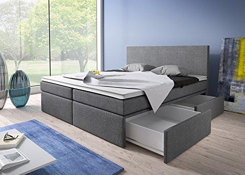 Luxus Boxspringbett mit Bettkasten Modell Roma Bild 3*