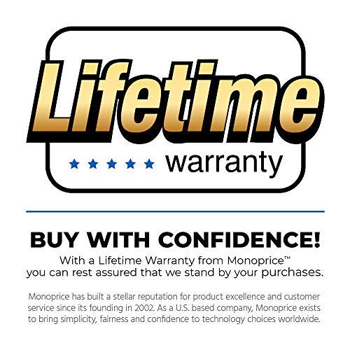 Monoprice 108791 6-Feet SATA 6 Gbps External Shielded Cable, eSATA to eSATA Type I to Type I, Black Iowa