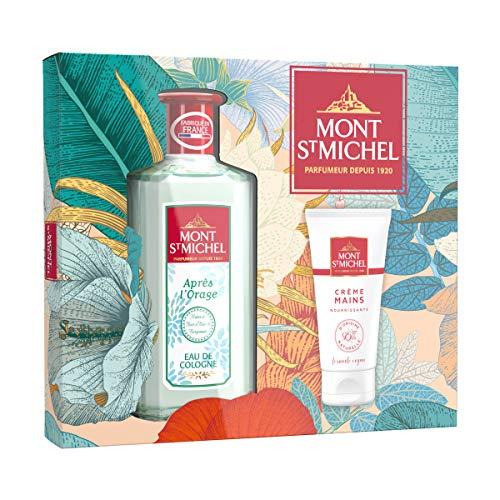 Mont Saint Michel - Coffret 2 Produits - Eau de Cologne Après l'Orage - 250 ml - Crème Mains Nourrissante - 75 ml