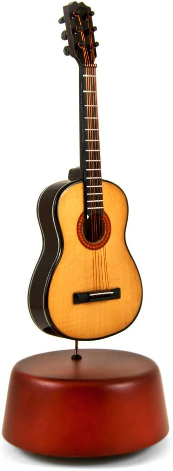 Amazing 18 Long-awaited Note Miniature Acoustic with Miami Mall Rotating Musical Guitar