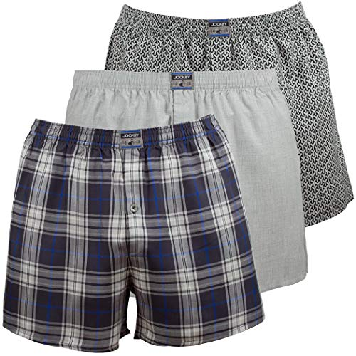 Jockey® Re-Active Woven Boxer 3Pack