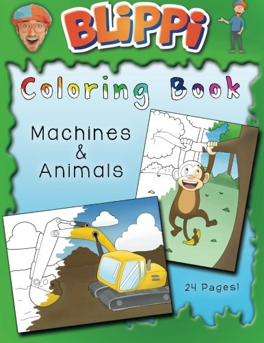 Easy You Simply Klick Blippi Coloring Book Animals Machines Download Link On This Page And Will Be Directed To The Free Registration Form