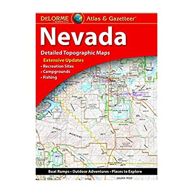 Delorme Nevada Atlas & Gazetteer (Delorme Atlas & Gazetteer)