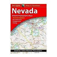 Delorme Nevada Atlas & Gazetteer (Delorme Atlas & Gazetteer)