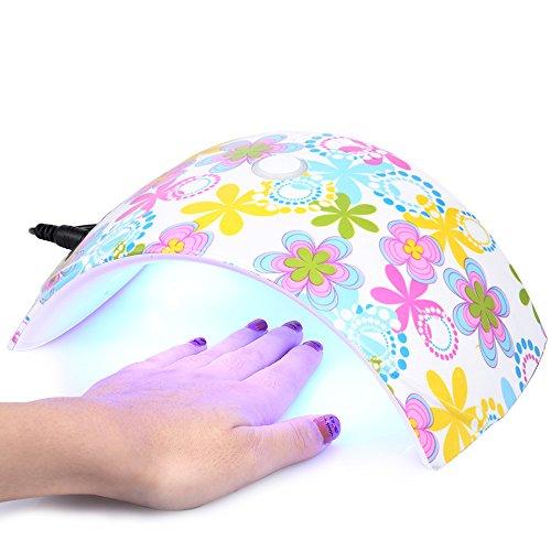 Anself 36W Secador Lámpara LED UV de Fototerapia para Esmalte de Uñas