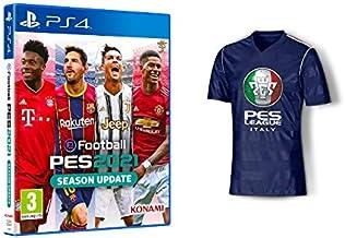 eFootball PES2021 Season Update + Maglia Tecnica PES [Esclusiva Amazon] - PlayStation 4