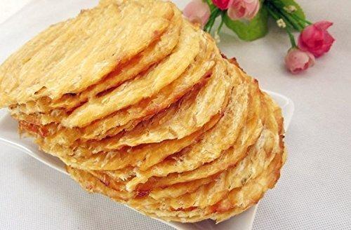 3 Pfund (1362 Gramm) Holzkohle gegrillte Meeresfrüchte Snack Yellowfin Filefish Filet aus China Sea