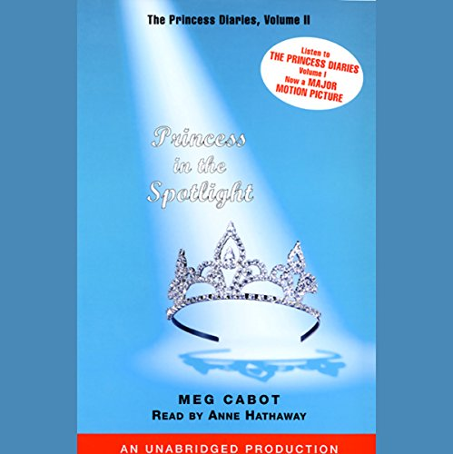 Princess in the Spotlight audiobook cover art