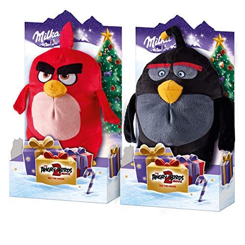 Milka & Angry Birds Plüschtier, 1er Pack (1 x 83 g)