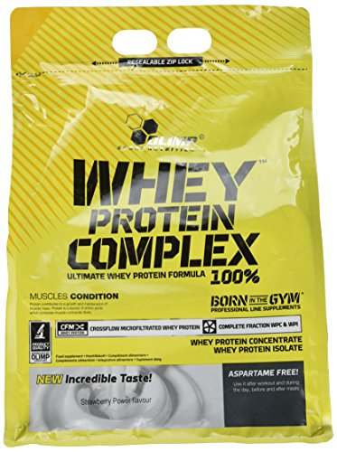 Olimp Labs Strawberry Whey Protein, 2.27kg