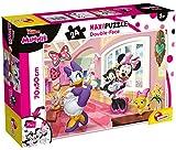 Lisciani Giochi - Minnie Puzzle, Multicolor, 74068