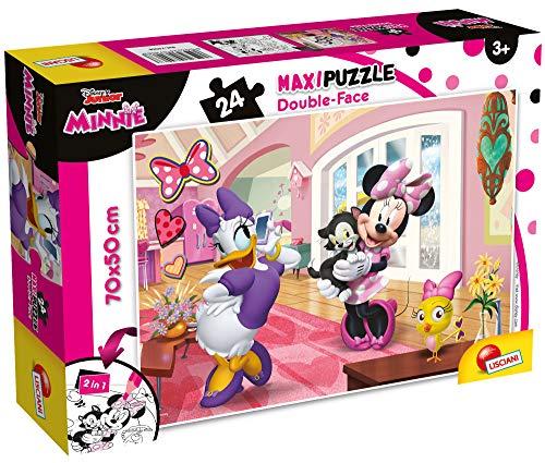 Lisciani Giochi Disney Puzzle Supermaxi 24, Minnie, 74068
