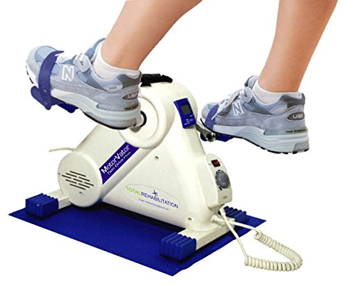 NEW MotorVator Twin Drive Plus Motorised Mini Exercise Bike An Easy, Low Noise, Best Quality to Progressively Aid in Strengthening Arm/Leg Muscles & Ligaments, Improve Flexibility & Promote Blood Circulation, Impact Free Exercise