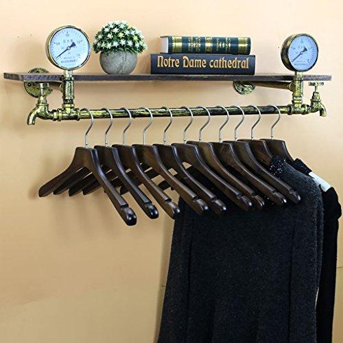 Wandregal Regal Boutique de vêtements Accessoires de décoration Écran de fenêtre Pendentifs Rétroviseurs présentoir (taille : A 85cm)