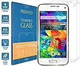 PREMYO Lot de 2 Verre Trempé Film Protection Écran Compatible avec Samsung Galaxy...
