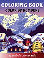 Coloring Books - Color By Numbers: Coloring with numeric worksheets. Color by numbers for adults and children with colored pencils. Advanced color by numbers