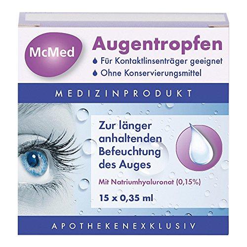 McMed Augentropfen, 15X0.35 ml