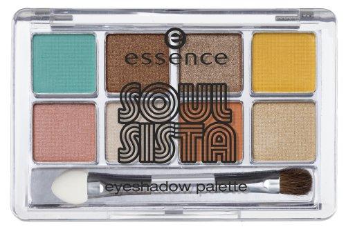 Essence SOUL SISTA - Nr. 01 Hey Sista Soul Sista - 8 long-lasting trendy eyeshadow Farbe: Gold /...