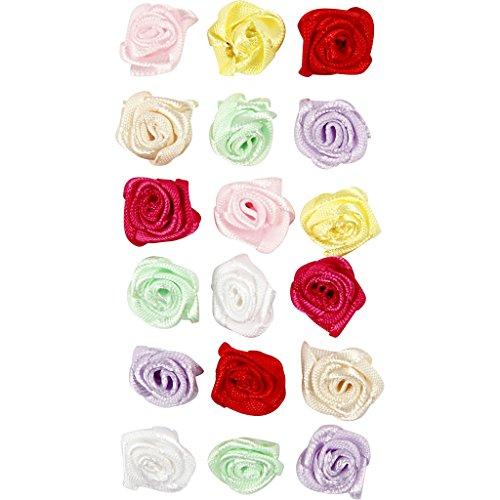 Roses, d: 14-18 mm, 500 assortis