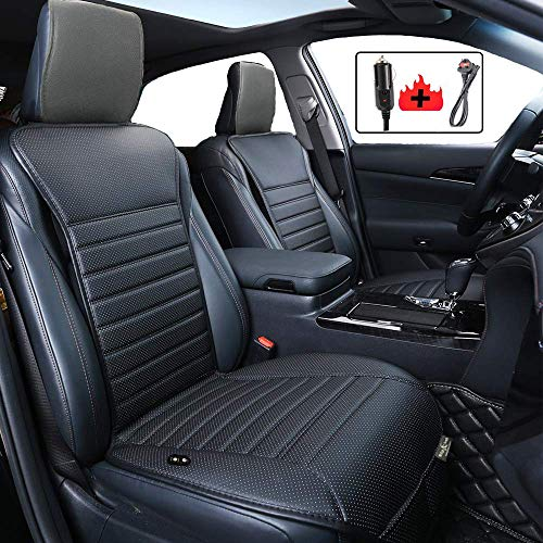Big Ant Heated Car Seat Cushion, 12V Heated Seat Cover for Car Leather Car...