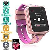 Enfants Musique Smartwatch - Montre Intelligente pour Enfants avec Lecteur de Musique MP3 [1 G Micro SD Inclus]...