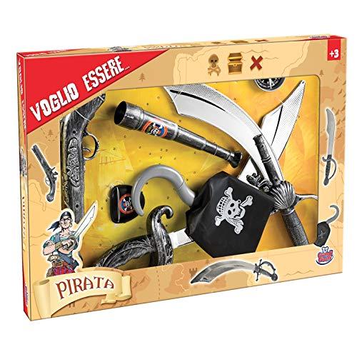 Grandi Giochi-GG16000 Armi Pirati Bambino 3+, Multicolore, GG16000