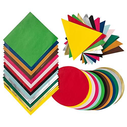 IKEA 503.853.97 Lustigt - Papel de origami, varios colores, formas mixtas