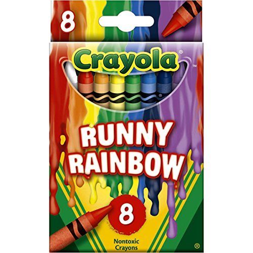 Crayola Meltdown Crayons (8 Pack), Runny Rainbow