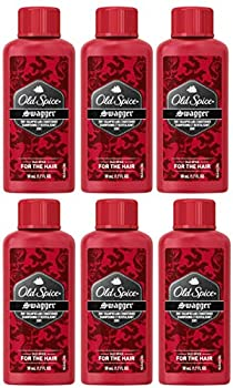 Old Spice Swagger 2 in 1 Shampoo and Conditioner Travel Size 1.7 Ounce  Pack of 6