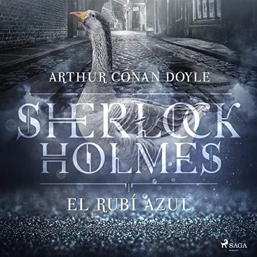 El rubí azul audiobook cover art