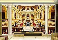 MAZF 3d壁紙カスタム壁画不織布3d壁画ローマ時代の柱テレビ設定壁建設絵画壁用写真壁紙3d208 cm(B)x 146 cm(H)