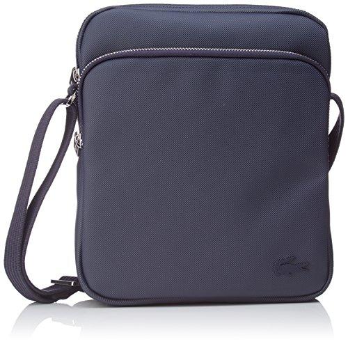 Lacoste Herren Sac Homme Access Premium Schultertasche, Peacoatblau, Einheitsgröße