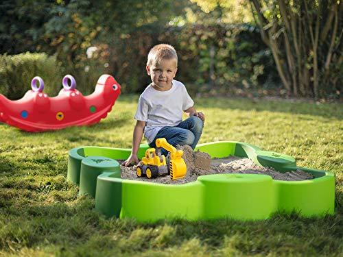 BIG Spielwarenfabrik Vario Sandpit Sandbox with Cover Child Sandboxes