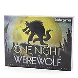 ISAKEN Una Noche Último Hombre Lobo, Juegos de Cartas, Juego de Mesa Cubierta Partido de Estudiante Adulto Niño Adolescente