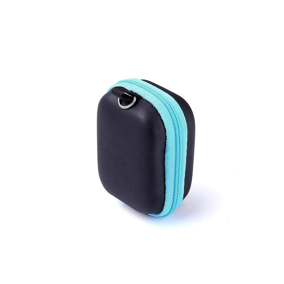 明日報告書囚人Pursue エッセンシャルオイル収納ケース アロマオイル収納ボックス アロマポーチ収納ケース 耐震 携帯便利 香水収納ポーチ 化粧ポーチ 6本用