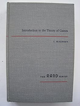 Hardcover Introduction to the Theory of Games Book
