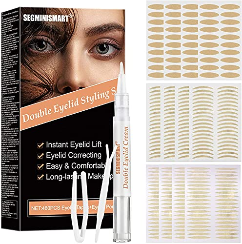 Eyelid Tape, Droopy Eyelid Stickers, Droopy Eyelid Lift Cream,...