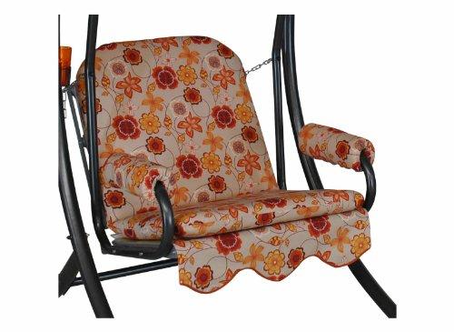 Angerer Single Schaukelauflage 1-Sitzer Design Madagaskar, beige, 65 x 50 x 60 cm, 1017/224