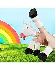 Yolococa Handicorn jednorożec palec ręka laleczka nowość zabawki palec rekwizyty zwierzę palec lalka prezent dla dzieci