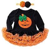 Wamvp Vestidos Bebe Niña Bautizo Ropa Recien Nacido Niña Bebé Mono Halloween Otoño Invierno Ceremonia Tutu Princesa