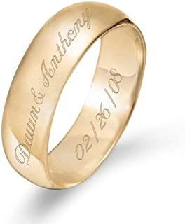Best gold plated wedding bands Reviews