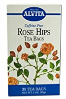海外直送品 Alvita Teas Rose Hips Tea, 30 Bags