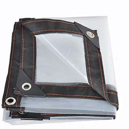 TRITTHOCKER Paño a Prueba de Lluvias, película Transparente para el Parabrisas de Ventana, Dosel Vegetal Aislado, 120 g / ㎡,3x4