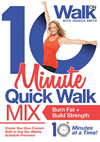10 Minute Quick Walk Mix DVD with Jessica Smith