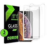iPhone 11/iPhone Xr 6.1 Inch Tempered glass Screen Protector. [3 in a pack] Full Screen 9H Hardness Shield, Case Friendly, Anti-Bubbles Scratch Free, Extra Durable and Comes with Easy to Install Kit
