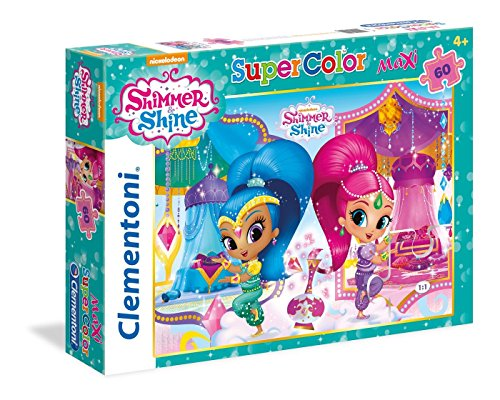Clementoni Puzzle 60 Maxi Piezas, Shimmer and Shine (26421)
