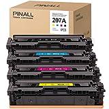 Cartucho de tóner para HP Color LaserJet Pro M255dw MFP M282nw M283cdw M283fdw (1 negro/1cian/1magenta/1 amarillo)
