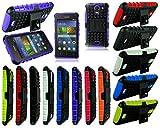 Huawei Y3 Y360 Y336 Purple Slim Shock Proof Stand Phone